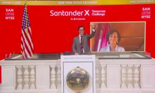 Bolsa de NY cita startups brasileiras do Santander X Tomorrow Challenge