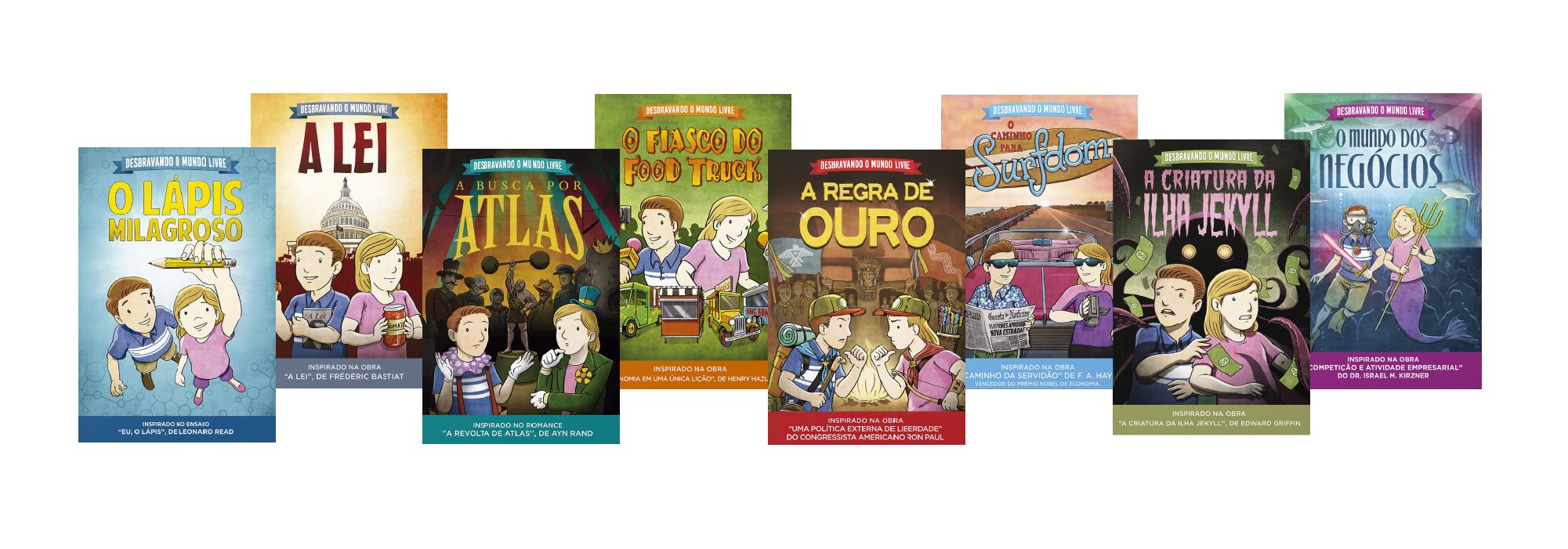 Instituto Liberdade lança coleção infantil sobre liberalismo