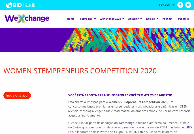 Concurso irá premiar as empreendedoras mais inovadoras