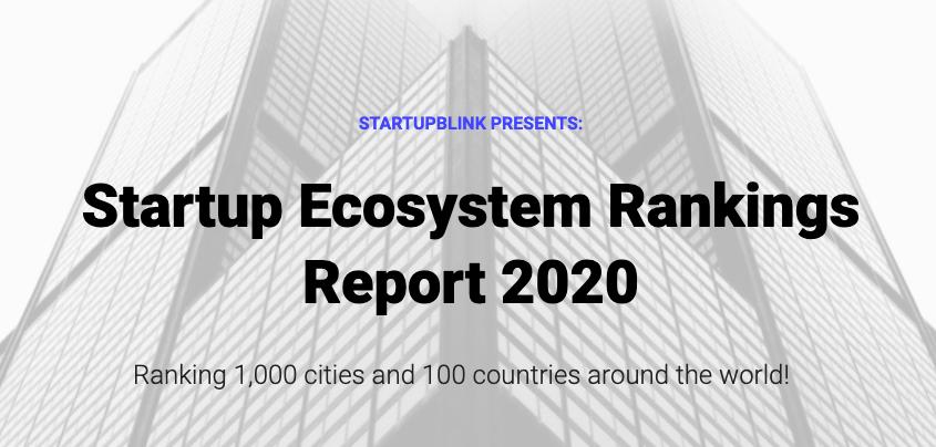 Startup Ecosystem Rankings 2020: Brasil é top 20