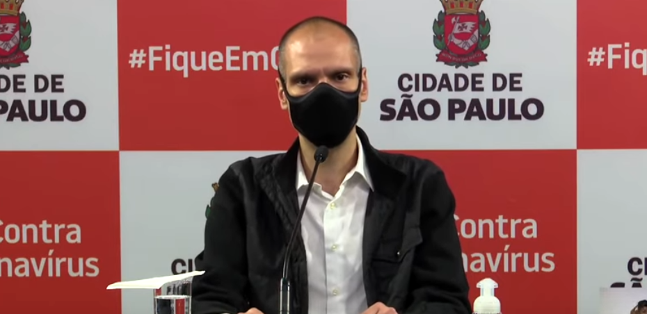 """Novo lockdown é fake news"", segundo Bruno Covas"
