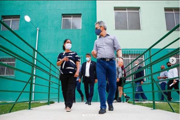 Zema: Minas Gerais tem a melhor gestão da pandemia