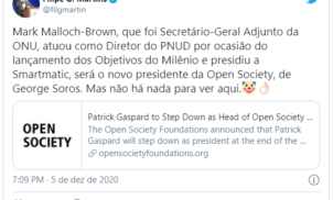 Open Society Foundations: novo presidente já presidiu a Smartmatic
