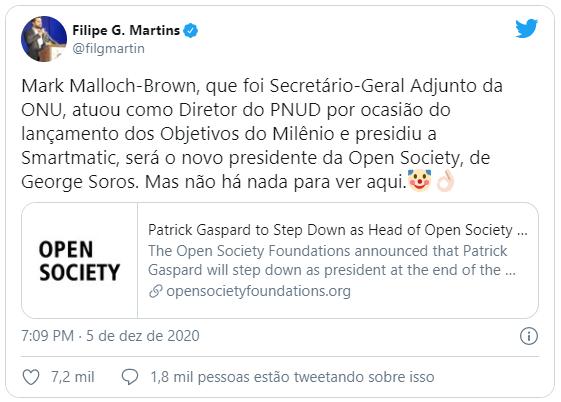 Open Society Foundations: novo presidente já presidiu a Smartmatic