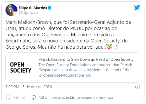 Open Society: novo presidente já presidiu a Smartmatic