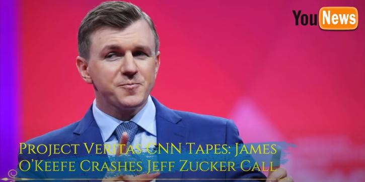 CNN exposed: James O'Keefe vaza reuniões gravadas