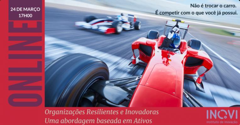 Inovi realiza evento sobre organizações resilientes e inovadoras