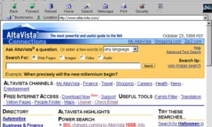 AltaVista: cinco curiosidades sobre o buscador dos anos 90