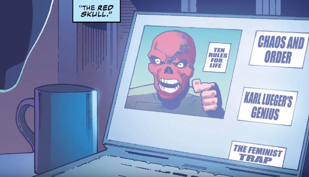 Jordan Peterson é retratado como vilão nazista em Capitão América