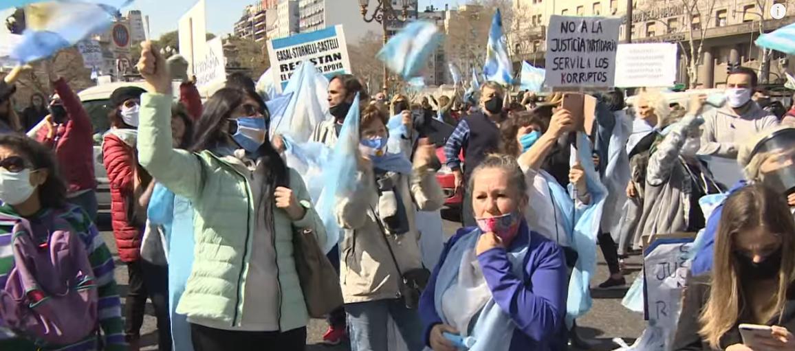 Socialismo e Covid-19: 42% da população da Argentina é pobre