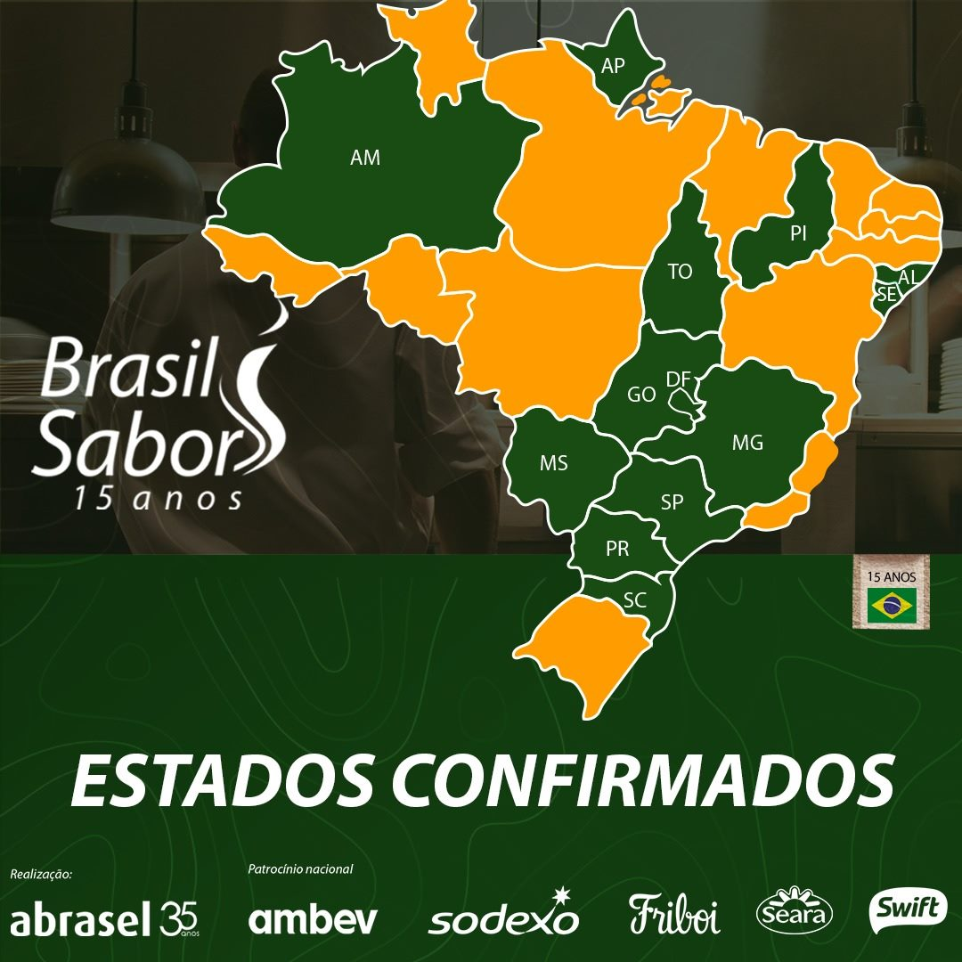 Festival Brasil Sabor RMC 2021 reúne 50 restaurantes