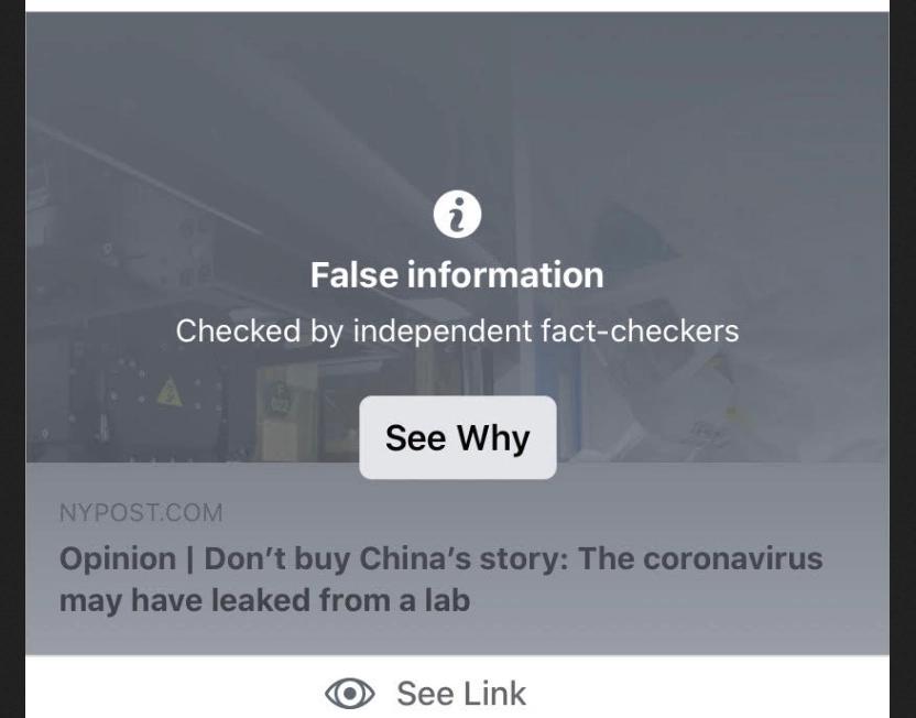 Origem da Covid-19: Censores do Facebook boicotam Mosher e erram