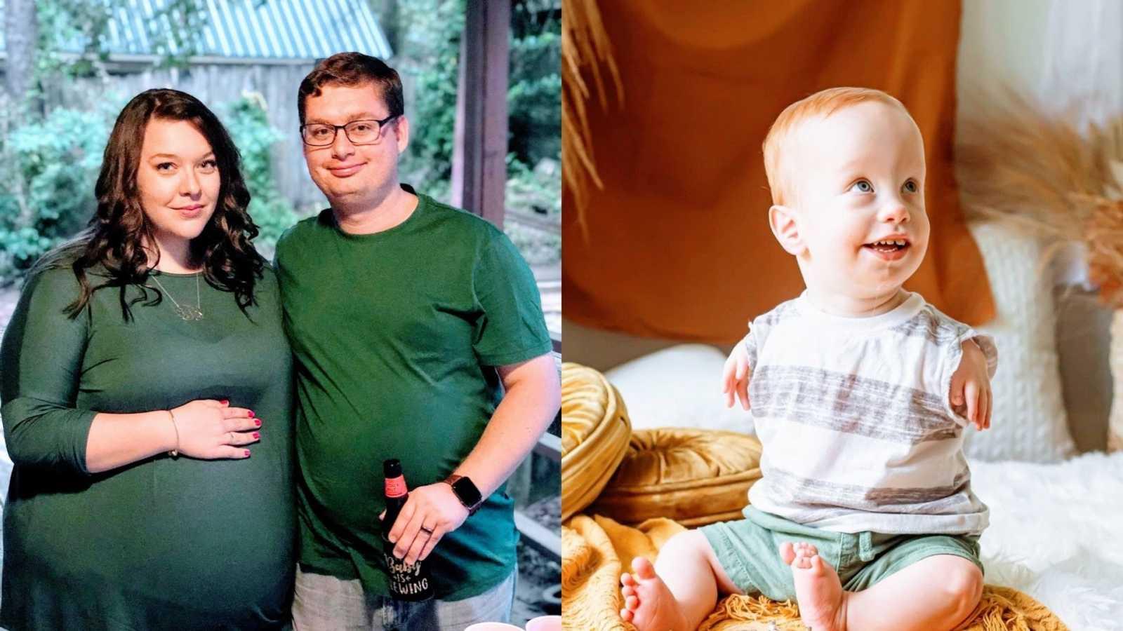 """Mãe e pai superam o medo de criar um filho """"com deficiência"""""""